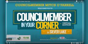 Councilmember in your corner