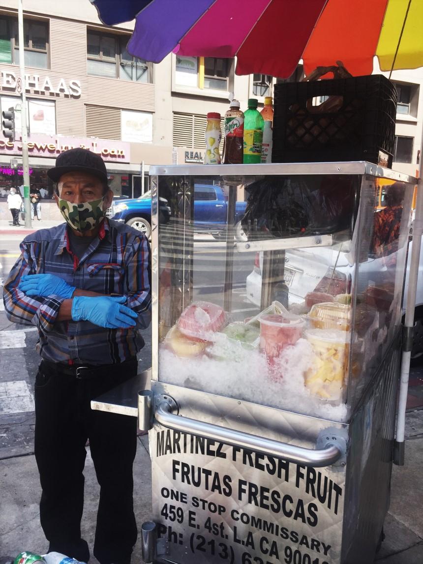 Martinez Fresh Fruit Vending