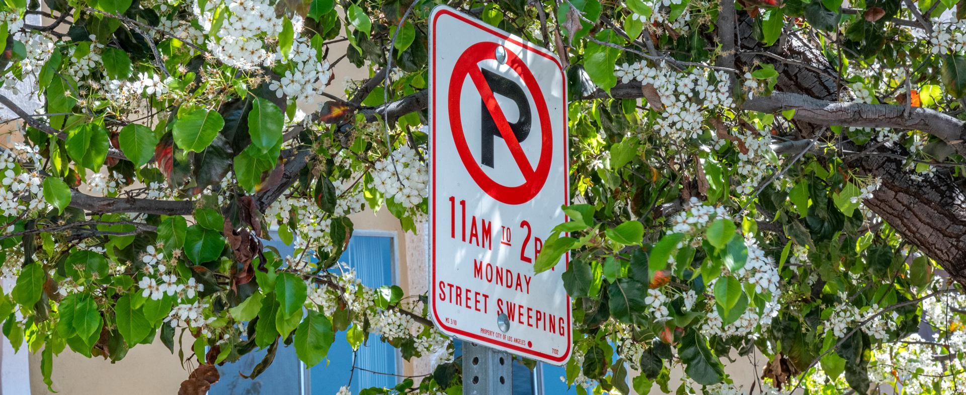 StreetsLA Street Sweeping