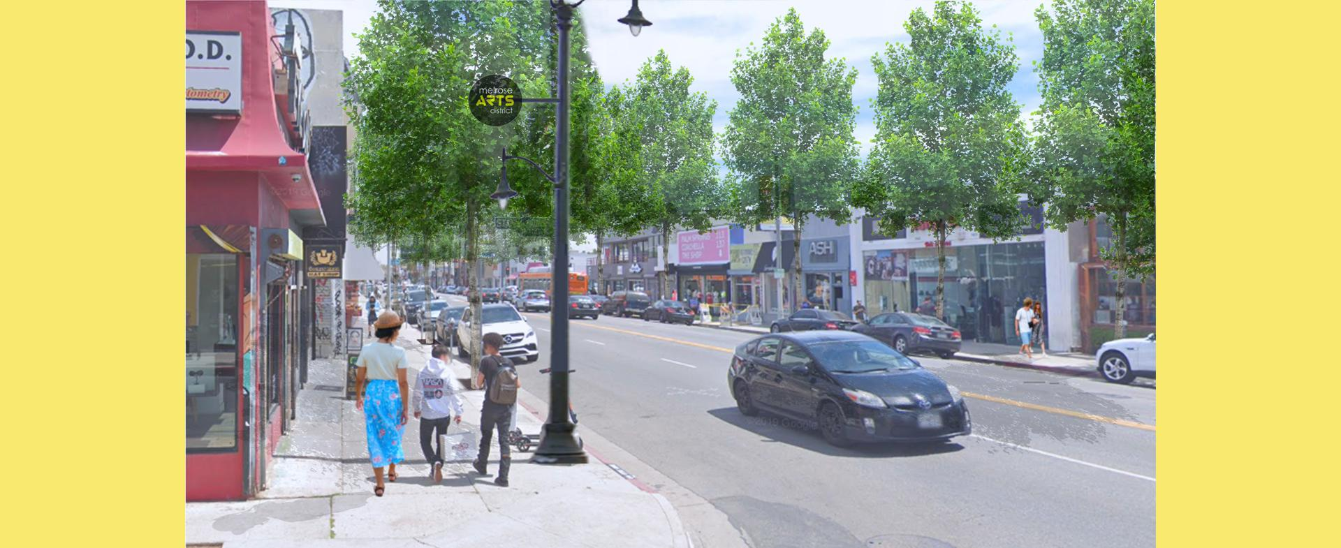Melrose Ave After